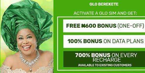 How To Migrate to Glo Berekete To Enjoy 700% Top-up Bonus