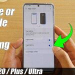 How To Activate The Edge Lighting Samsung S20 Plus, Galaxy S20 or S20 Ultra