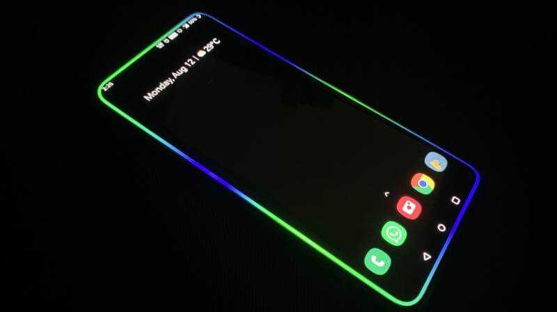 How To Enable Samsung A31 Edge Lighting Not Working?