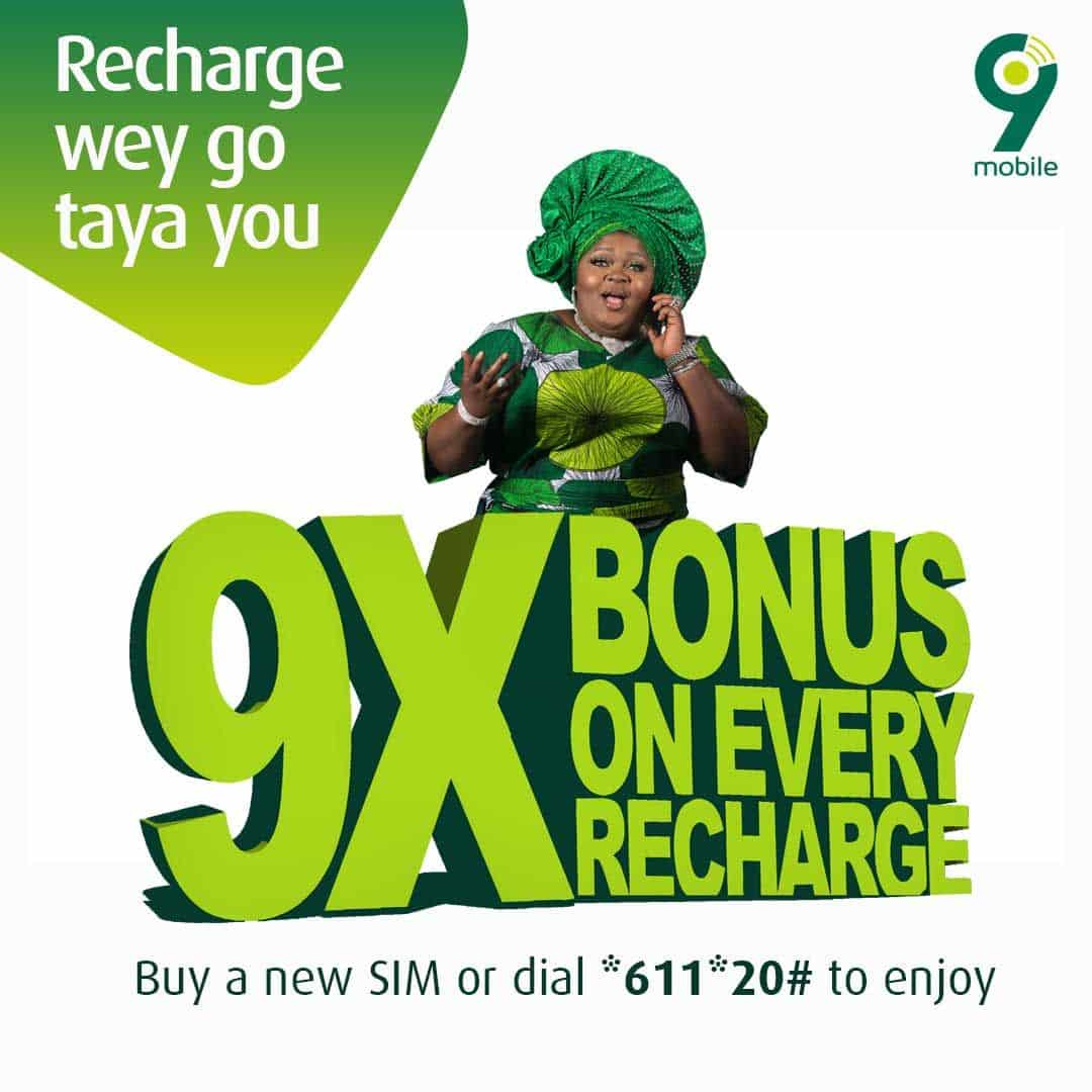 How to Activate and Deactivate 9mobile 9x Bonus and Its Benefit
