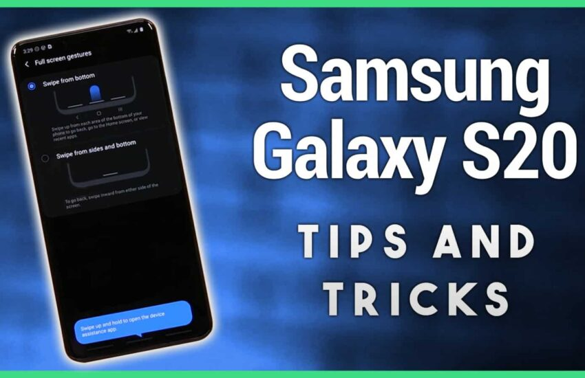 Samsung galaxy s20 display tips and tricks