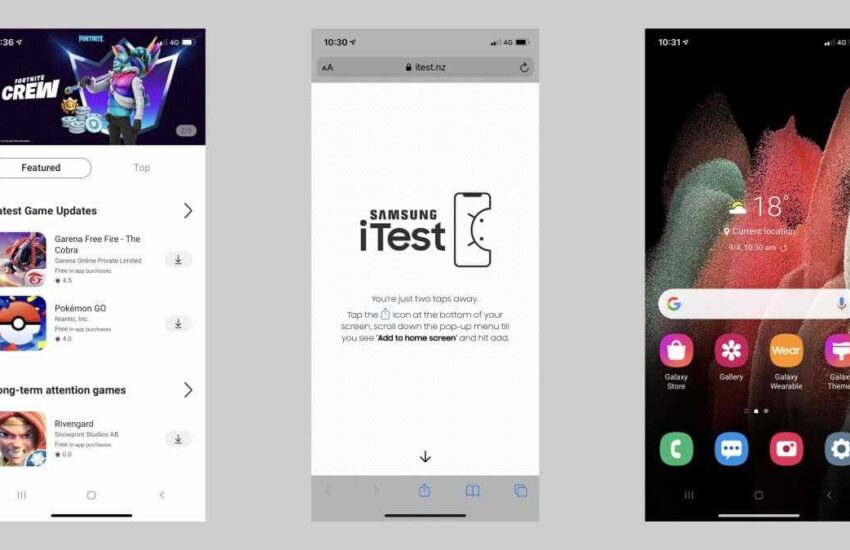 iTest - Samsung launches app that turns iPhones into Galaxy devices